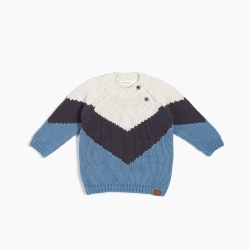 Alpine Stripe Sweater 4/5T