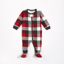 Sleeper Red Plaid 9m
