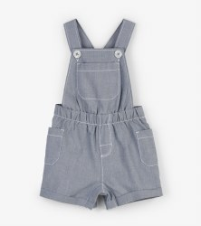 Chambray Shortall 9-12m