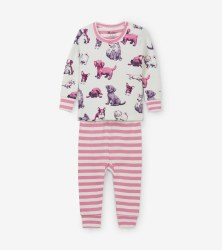 Mini PJ Set Pups 6-9m