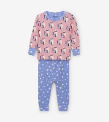 Mini PJ Set Kitty 9-12m