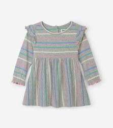 Baby Dress Sweet Stripe 2T