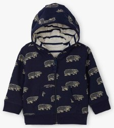 Bears Reversible Hoody 3-6m