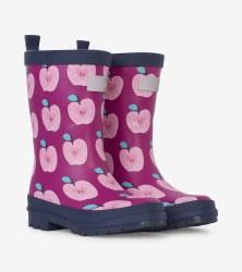 Rain Boots Apples 10