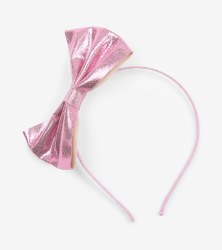 Rose Shine Bow Headband