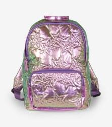 Hologram Stars Quilted Backpack