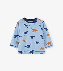 Baby Tee Dino Silhouettes 2T