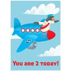 Card Plane 2 Birthday