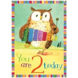 Card Owl 2 Birthday