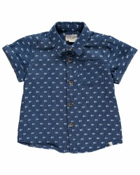 Fish Chambray Shirt 3-4y