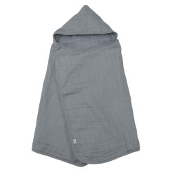 Hooded Towel Gray