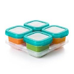 Baby Blocks Freezer 6oz Teal