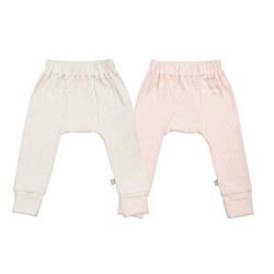 Pants 2pk Pink 9-12m