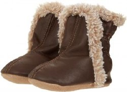 Classic Bootie Brown 0-6m