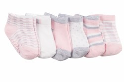 Socks Shine Bright 6pk 6-12m