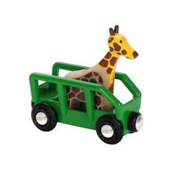 Giraffe & Wagon