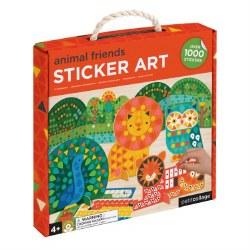 Animal Friends Sticker Art Kit