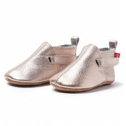 Leather Bootie Rose Gold 24m