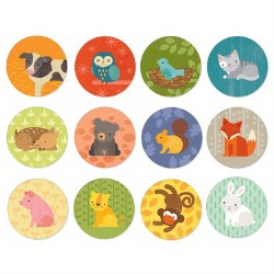 Animal and Babies Memory Game