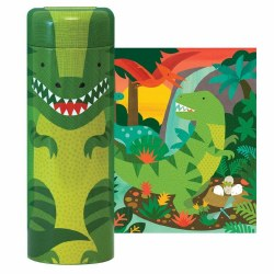 Dinosaur 64pc Tin Puzzle