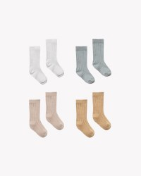 Baby Socks 4pk 12-24m