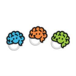 Brain Teether Blue