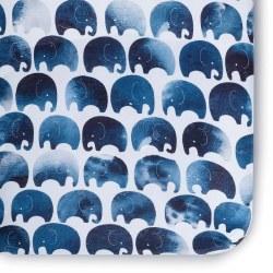 Crib Sheet Jersey Elephant