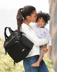 MainFrame Diaper Bag Black