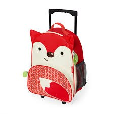Zoo Luggage Fox