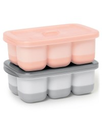 Easy Fill Freezer Trays Pink