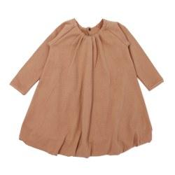Bubble Dress Nutmeg 9-12m