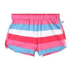 Jillian Short Bright Stripe 6x