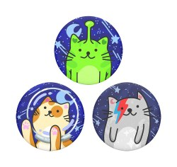 PopSockets Mini Space Cats