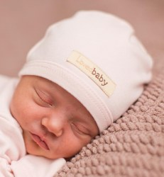 Cute Cap Preemie-nb Blush