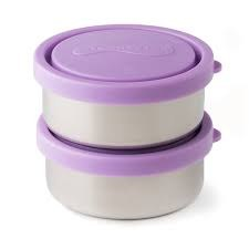 Small Round Containers Lavender