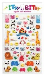 Itsy Bitsy Stickers Animal World