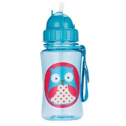 Straw Bottle Owl