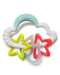Silver Lining Starry Rattle