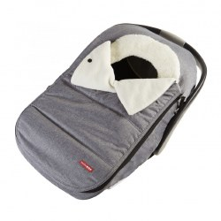 Car Seat Cover Heather Grey