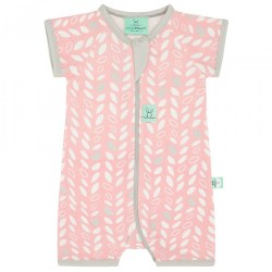 S/S PJ .2 TOG 0-3m Spring Leaves