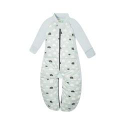 2.5 Tog Sleep Suit Clouds 2-12m