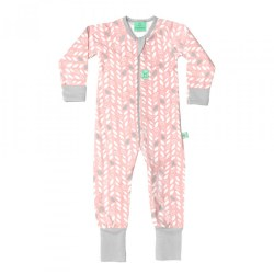 L/S PJ 1 TOG 6-12m Spring Leaves