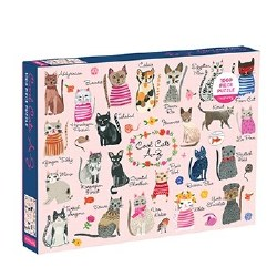 Cool Cats 1000 Piece Puzzle