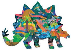 Dinosaurs 300 Piece Shaped Puzzle
