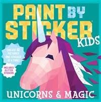 Paint By Sticker Unicorn Magic