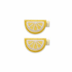 2pk Clips Lemon Slice