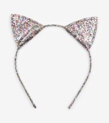 Glitter Kitty Ears Headband
