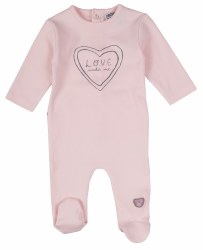 Love Made Me Footie 3-6m