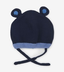 Blue Bear Ears Hat XS/S