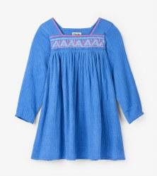 Sea Blue Beach Dress 2